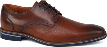 Van Lier Shoes Leather Cognac Brown