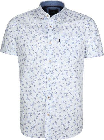 Vanguard Hemd Blumen Weiß