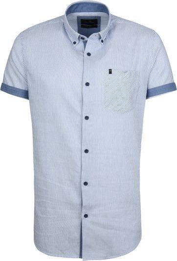 Vanguard Overhemd Strepen Blauw