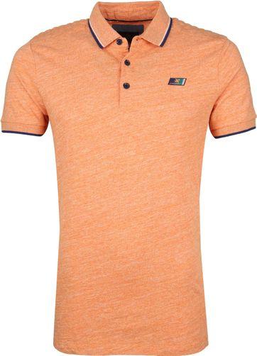 Vanguard Polo Mouline Jersey Oranje