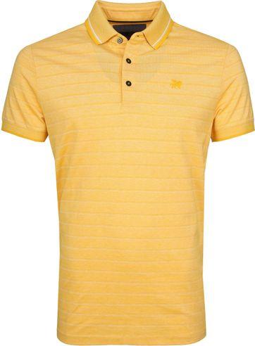 Vanguard Polo Yellow Stripes