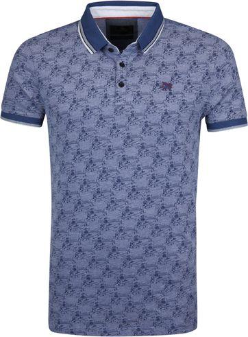 Vanguard Poloshirt Design Blau