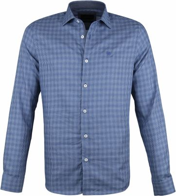 Vanguard Print Shirt Printed Navy