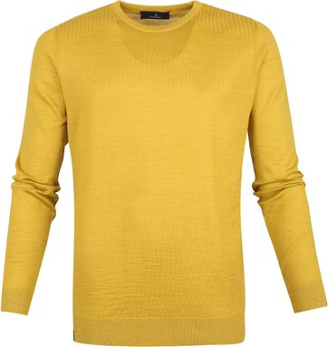 Vanguard Pullover yellow ocher