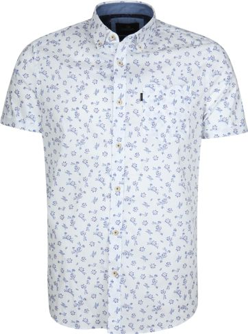 Vanguard Shirt Flowers White