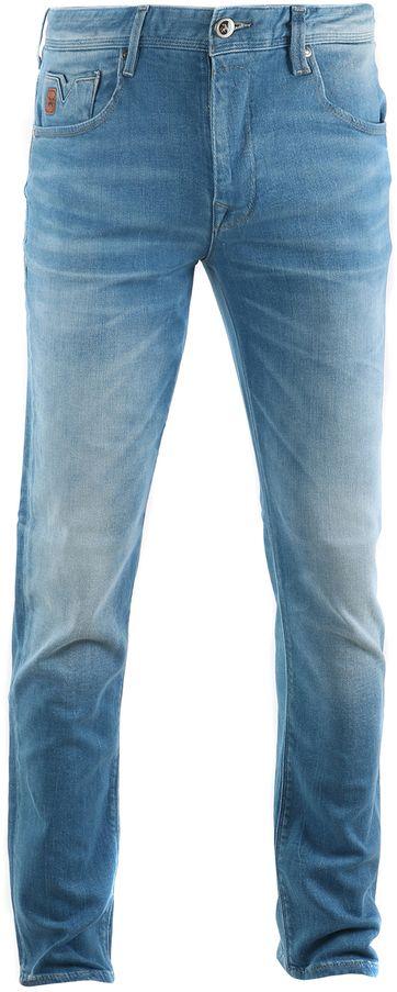Vanguard V7 Rider Jeans Hellblau
