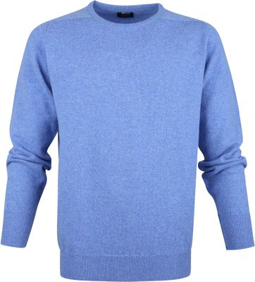 William Lockie Lambswool Blue