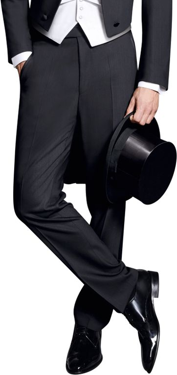 Wilvorst White Tie Pants 100% Wool