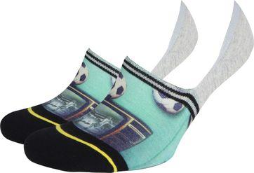 Xpooos Sneaker Socken Fußball