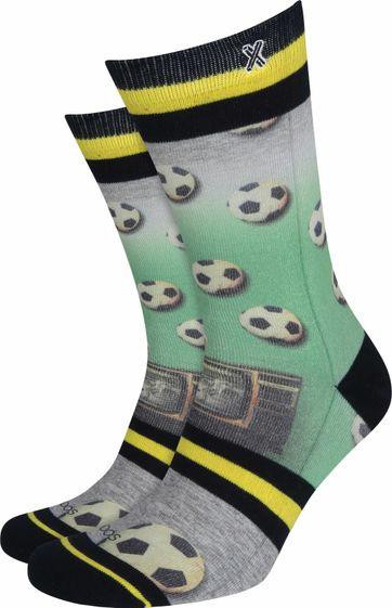 Xpooos Socken Fußball