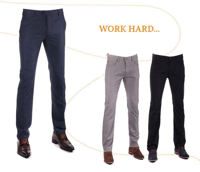 wol blend pantalon