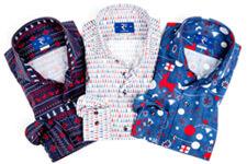 Overhemden kerstdiner
