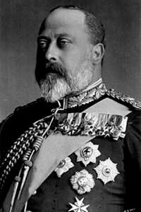 Knoopje Koning Edward VII