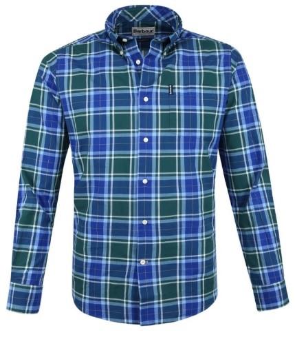 geruit overhemd Barbour