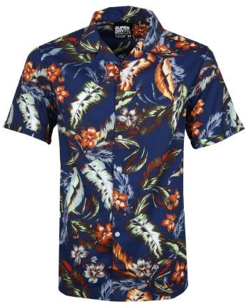 Overhemd met bloemen print