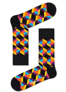 Sokken met gekleurde print