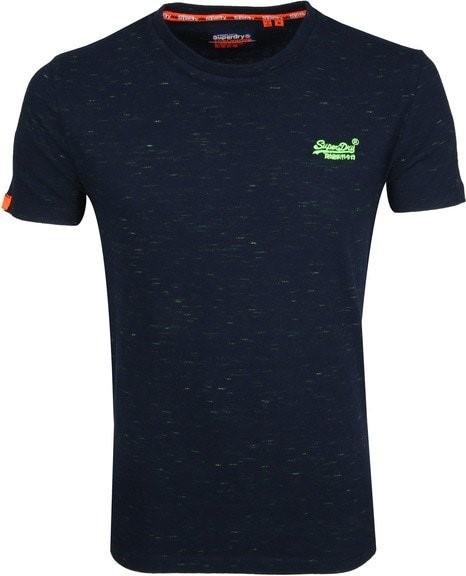 Super dry t-shirt neon detail