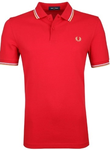 Rode Fred Perry polo