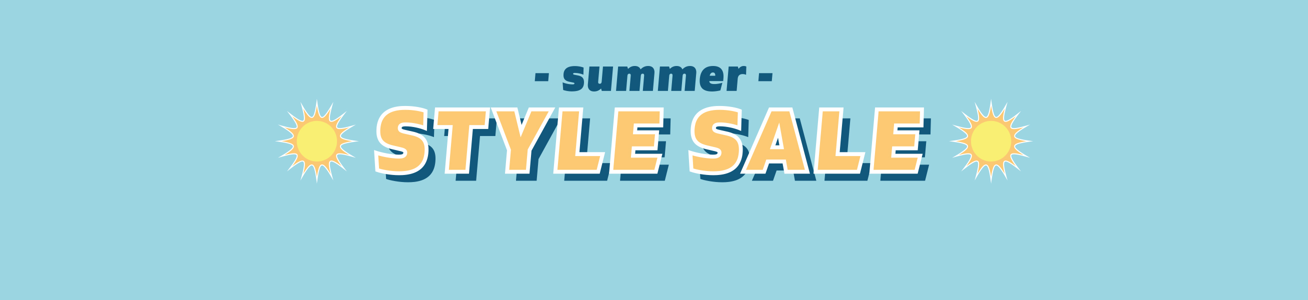 Summer Style Sale