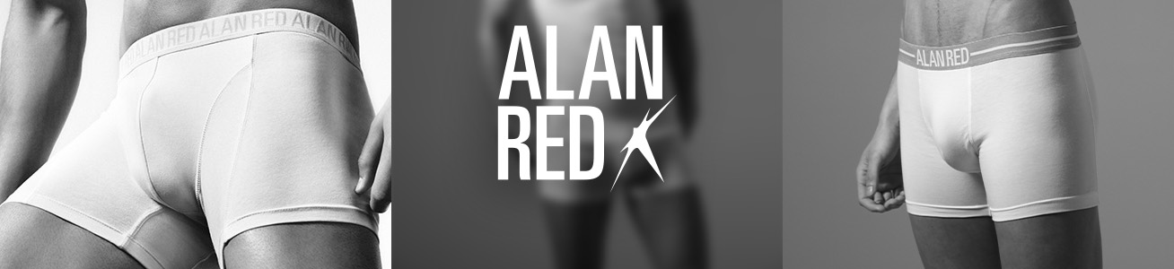 Alan Red Boxershorts