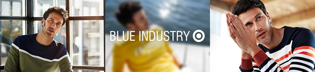 Blue Industry truien