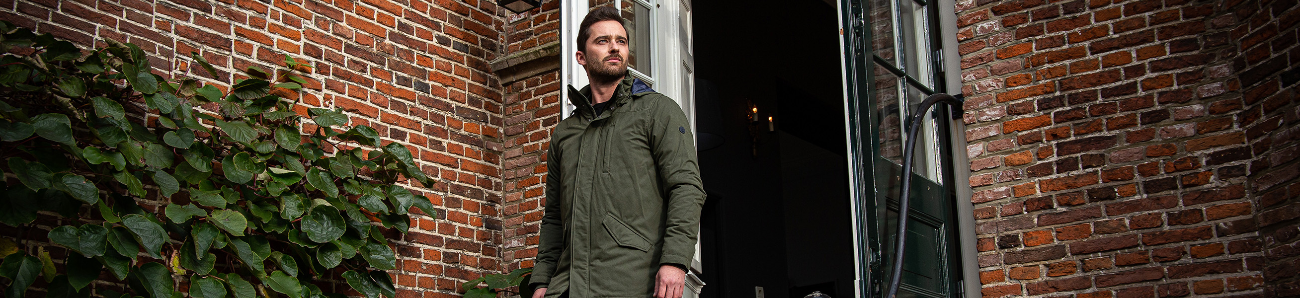 Cotton Men's Coats and Jackets