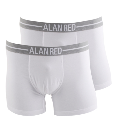 Alan Red Boxershort Wit 2Pack | Boxers van Alan Red