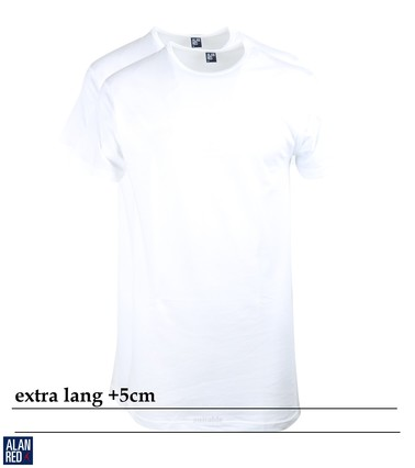 Alan Red Extra Lange T-Shirts Derby(2pack)