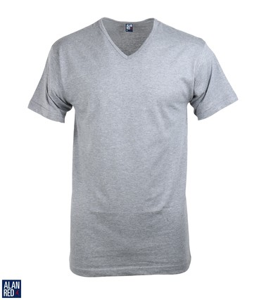 Alan Red T-Shirt V-Hals Vermont Mouse (1pack)