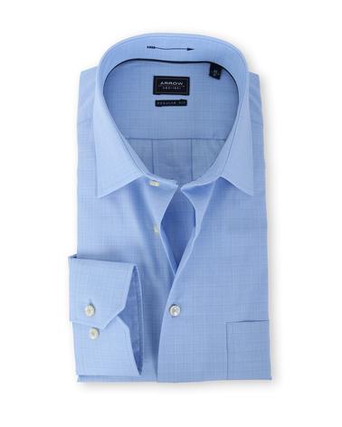 Arrow Shirt Blake Kent Blauw Ruit