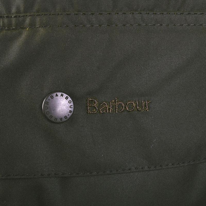 Detail Waxcoat Barbour Beaufort Classic