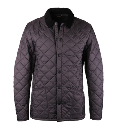 Barbour Heritage Liddesdale Quilt Charcoal