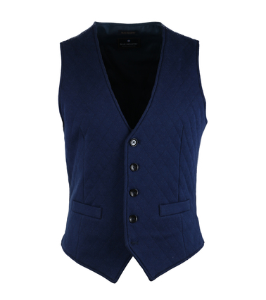Blue Industry Casual Gilet Navy