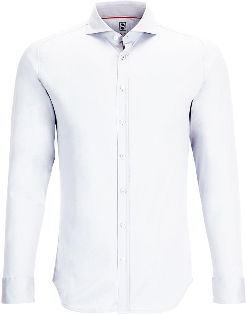 Desoto Overhemd Strijkvrij Wit