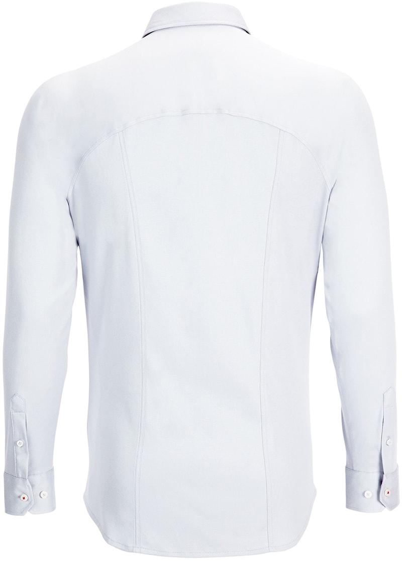 Detail Desoto Overhemd Strijkvrij Wit