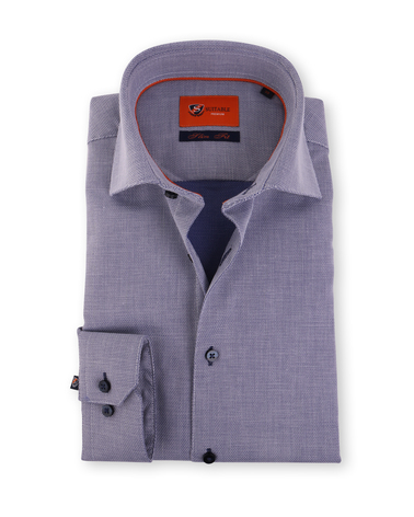 Donkerblauw Overhemd Widespread 52-16