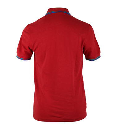 Detail Fred Perry Polo Rood Slim Fit A60