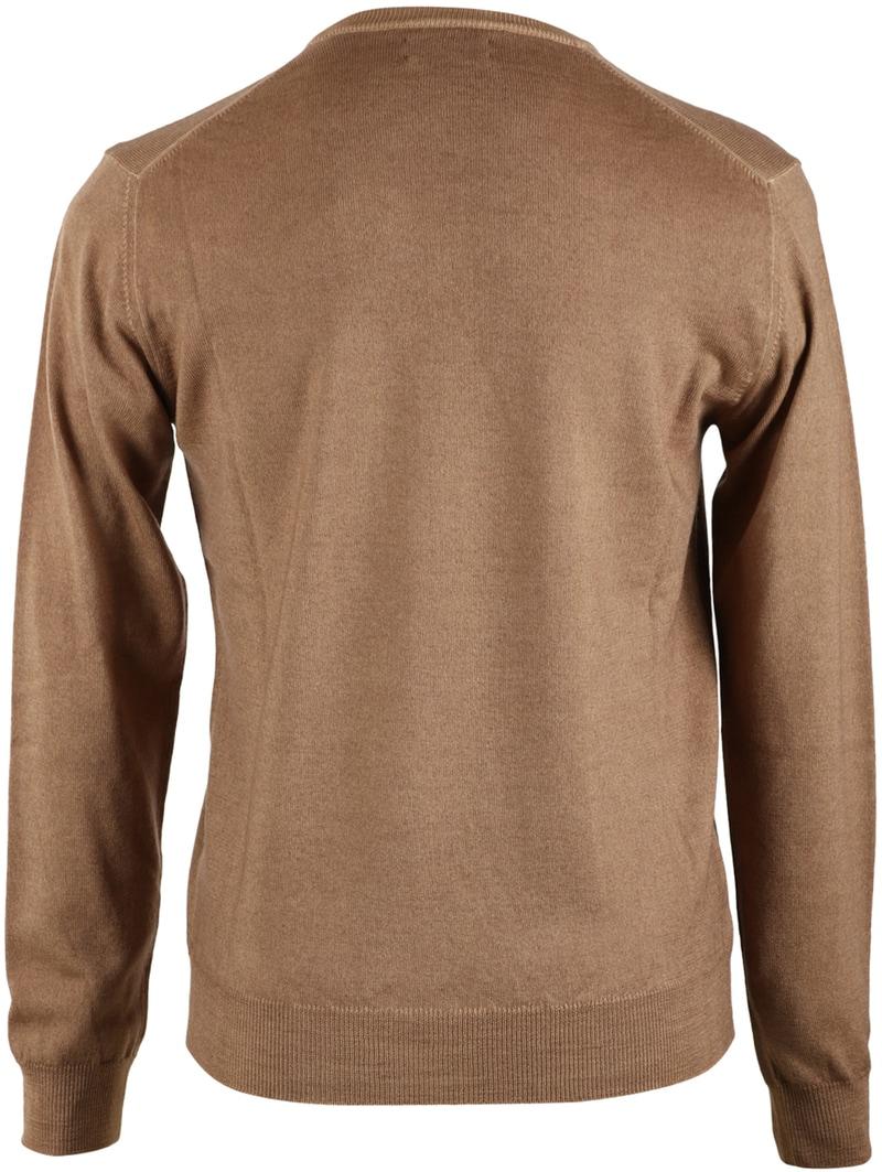 Detail Gant Pullover V-neck Khaki