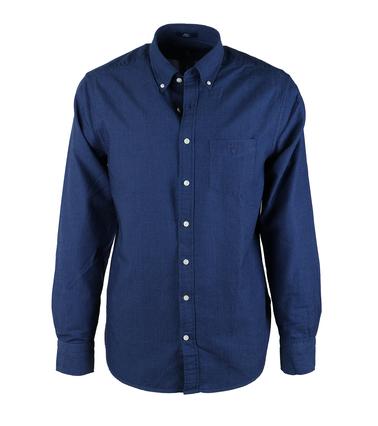 Gant Shirt Pinpoint Navy