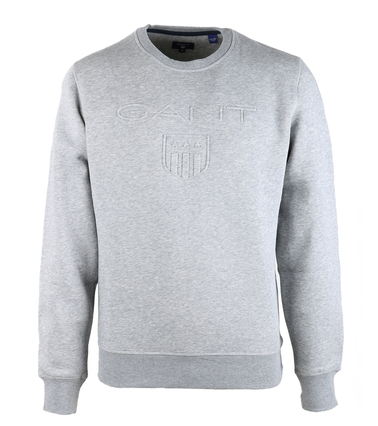 Gant Sweater Embossed Grey