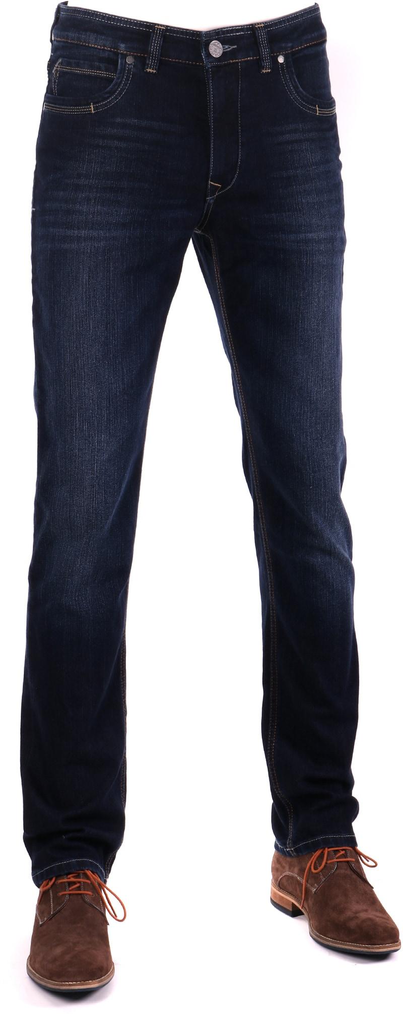 Detail Gardeur Batu Modern-Fit Spijkerbroek Dark Blue