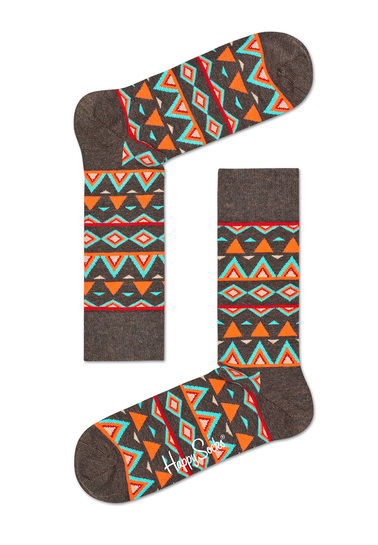 Happy Socks Temple Oranje TEM01-8000