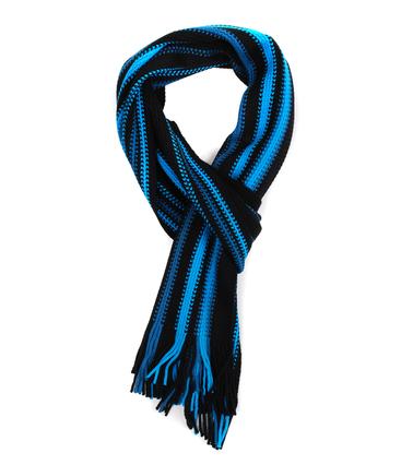 Heren Sjaal Blauw Streep 14-2