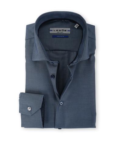 Ledub Overhemd Donkerblauw Non Iron