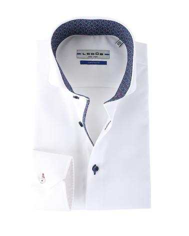 Ledub Shirt Wit Non Iron