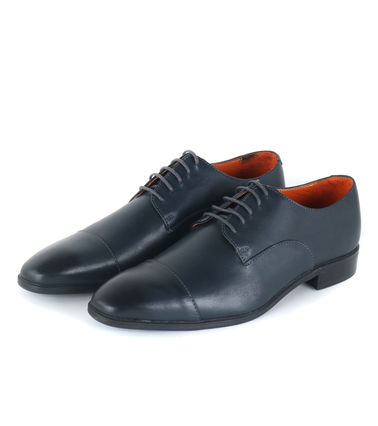 Suitable - Leren Herenschoen Derby Navy