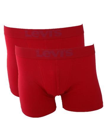 Levi's Boxershort 2-Pack Rood