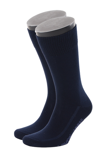Levi's Sok Katoen 2-Pack Donkerblauw 321