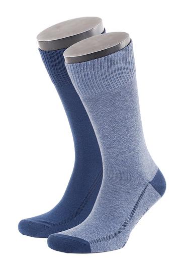Levi's Sok Katoen 2-Pack Middenblauw 824