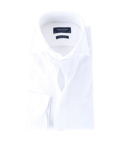 Profuomo Knitted Shirt White